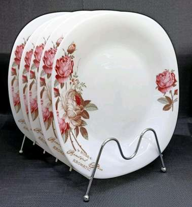Available ceramic round dinner plate image 2