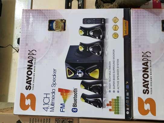 Sayona 4.1 Woofer SHT 1148BT 16000watts Bluetooth Speakers image 1