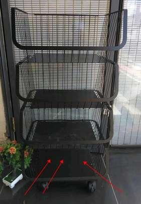 Fruit rack 4 tier image 2