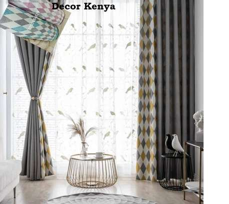 GREY AND YELLOW CURTAINS image 1