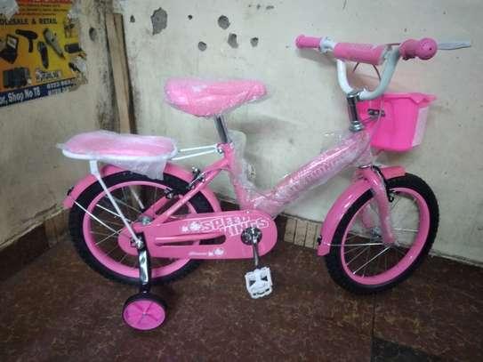 16inch speedking pink kids bicycle image 1
