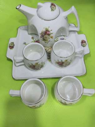 Coffee set ,cups and kettle set image 3