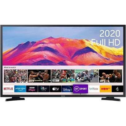"""Hisense 43"""" UHD FRAMELESS 4K LED Smart TV - Series 7 - New Model 2020 black 43 inch-Easter sale image 1"""