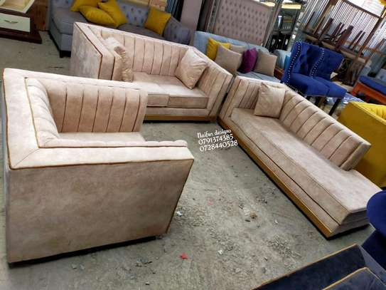 Complete set of sofas/three seater sofa plus two seater sofas plus one seater sofa/sofa bed image 2