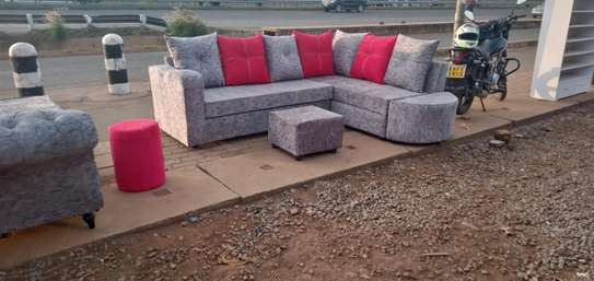 Sofa set made by hand wood and good quality material made image 1