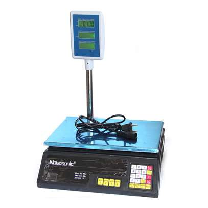 Electronic Price Computing Scale,ACS-30 40kg/5g Digital Deli Food Produce Weight Scales Counting Equipment image 1