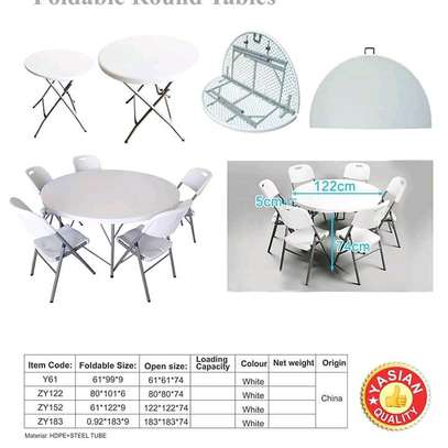 foldable tables, chairs and Stools are available for both indoor and outdoor use image 3