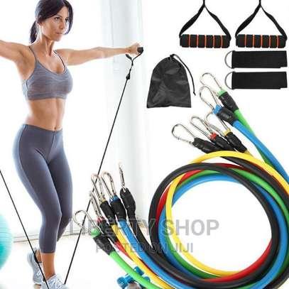 Latex Fitness Yoga Bands image 1