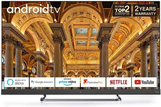 TCL 65 inches Onkyo Android UHD-4K Smart Frameless Digital TVs image 1