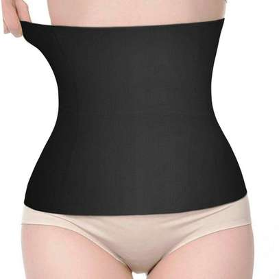 Waist Trainer Corset Belt for Weight Loss Sport Workout Body Shaper Tummy Fat Burner image 2