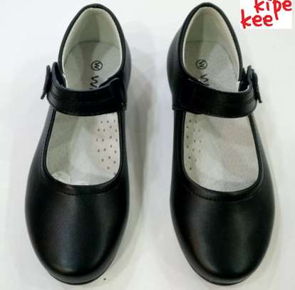 M Leather  School Shoes.