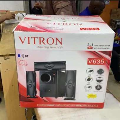 Vitron V635 3.1 Channel Subwoofer Sound Speakers System