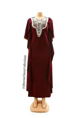Embroidered dera dress image 2