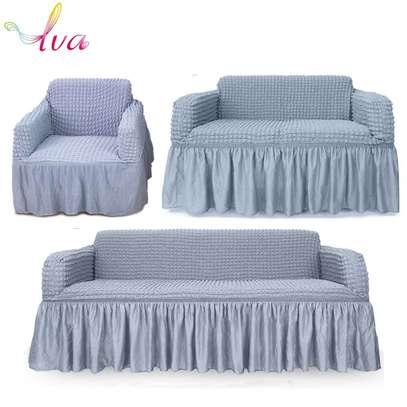 Elastic sofa cover image 4