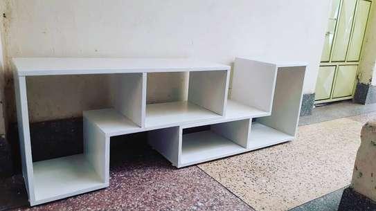 sleek design TV stand image 2