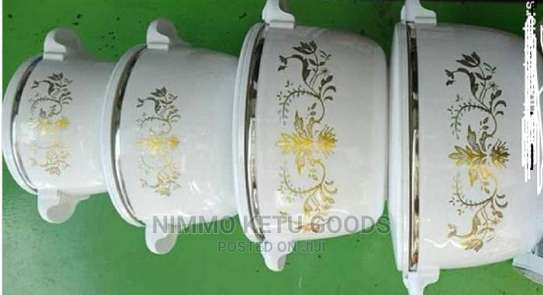 4 Pcs Elegant Hot Pot image 1