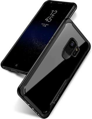 IPAKY Hybrid Shockproof Transparent Case for Samsung A8 2018/A8 Plus 2018 image 1