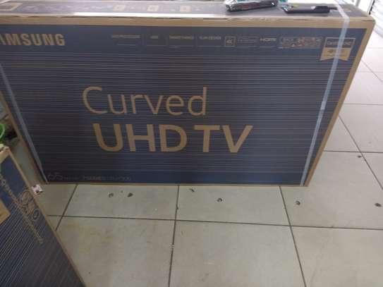 "Samsung 65 ""smart curved uhd tv image 1"