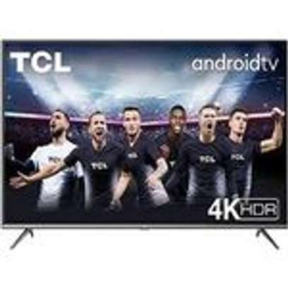"TCL 65"" 4K UHD ANDROID TV,ALEXA VOICE CONTROL,WI-FI,CHROMECAST-65P8M image 1"