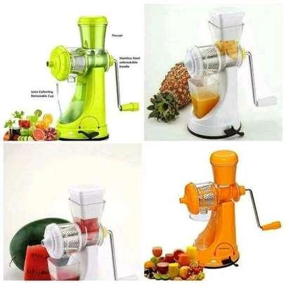 Effective Blender- multi function manual Juicer- fruits and vegetable image 4