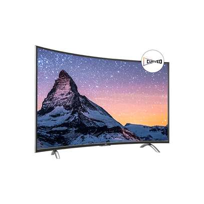 Samsung 55inches smart  curved tv 4K TV