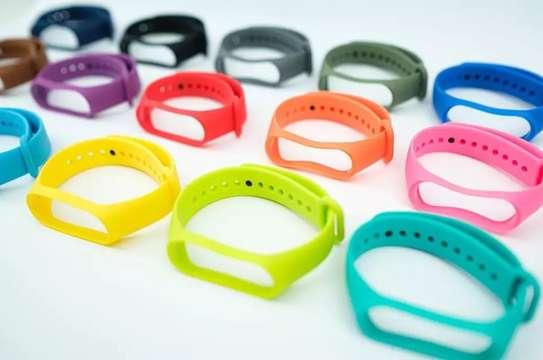 Replacement Silicone Sports Soft Wrist Strap Bracelet Wristband for XIAOMI Mi Band 3/4 image 4