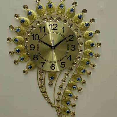 Question mark and Eye Design wall clocks image 1