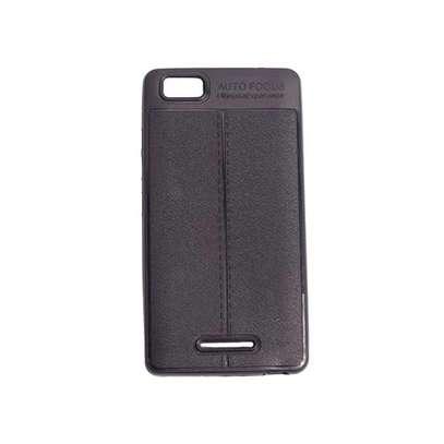 Generic Tecno W3- Auto Focus Phone Back Cover-Black image 3