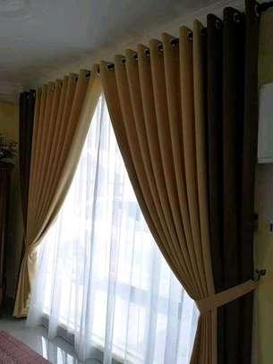 Matching curtains image 1