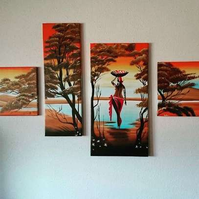 Tagged Art on Canvas image 7