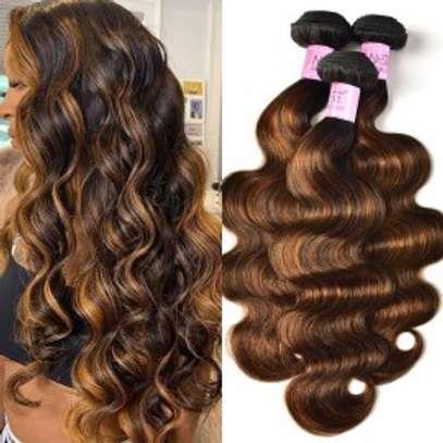 "24"" Human Hair Weaves image 1"