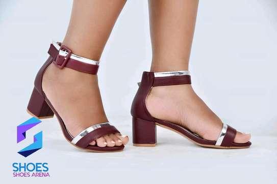 Quality Chunky Heels image 15