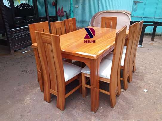 8 Seater Mahogany Dining Table Sets. image 3