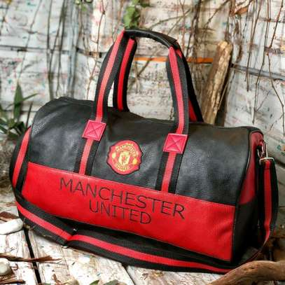 ITEM: *_Leather Duffle Bags._*???? image 6