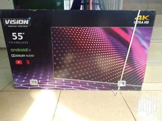 55 vision smart android 4k tv image 1