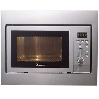 25 LITERS BUILT-IN MICROWAVE+GRILL STAINLESS STEEL image 1