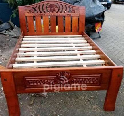 Bed 5 x 6 Mahogany beds . Pay on Delivery!!! Same day Delivery!!! image 4