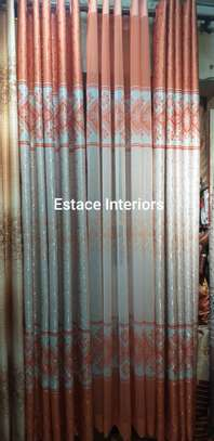 Matched curtains and sheers image 12