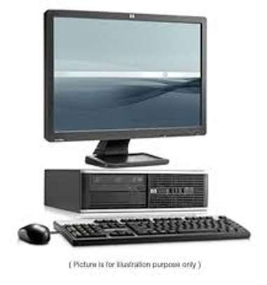"HP 6000 Desktop with 17"" tft complete set"