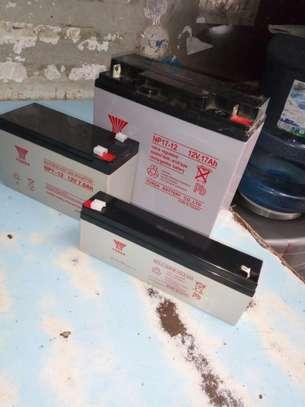 Rechargable Lead Acid 17Ah 12V Yuasa battery image 2