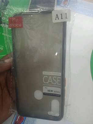 Samsung A11 Back Cover(My Choice) Hard Back Covers in shop image 2
