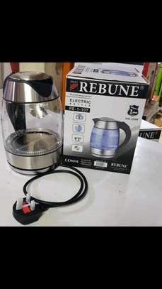 Electric kettle with illuminating light image 1