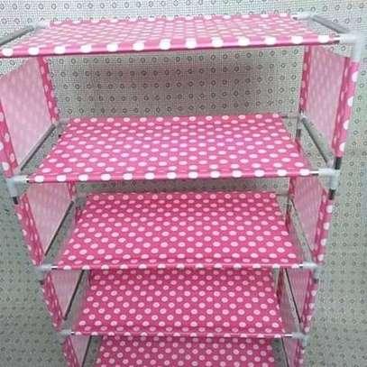 Shoe rack(pink) image 1