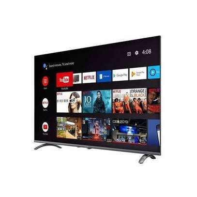 Syinix 50 inch smart Android frameless TV image 1