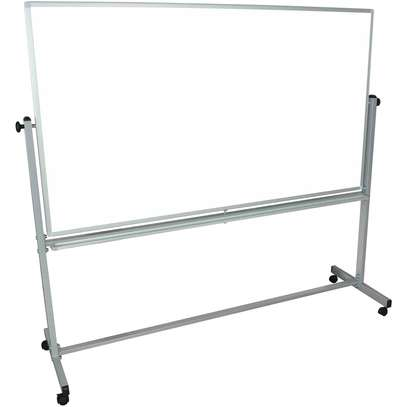 Portable Single Sided Whiteboard 6ftx4ft image 1