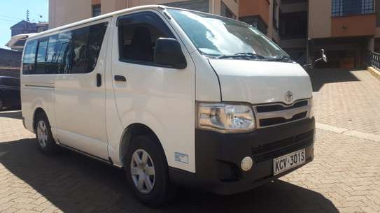 Executive 11 Seater van hire  for staff tranport within Nairobi