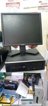 Hp Compaq 6300 Pro Intel Core i5, 4GB Ram and 500GB Hard disk Complete Desktop Computer Set up with 17 inch Desktop Computer Monitor, Two Power Cables, VGA Cable, Keyboard and Mouse