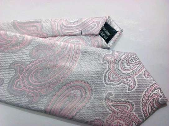 Floral 100% Silk Ties For Men. Free Delivery!!! image 6