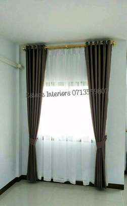 BROWN CURTAINS image 2