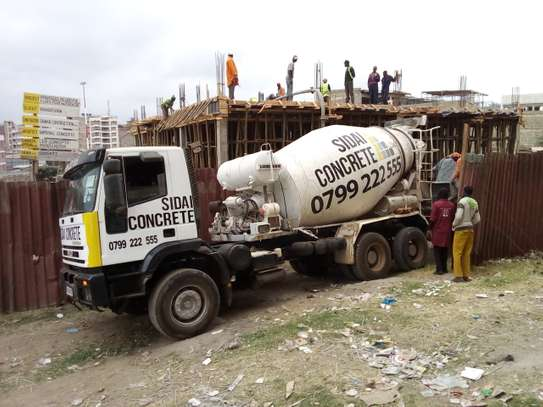 Ready Mix concrete of any strength.